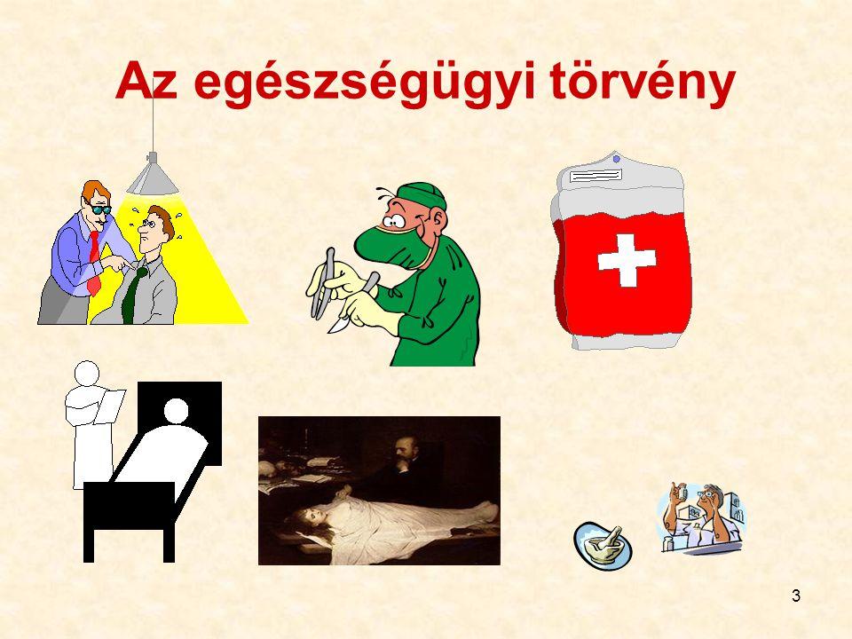 3 Az egészségügyi törvény