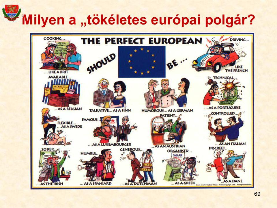 """69 Milyen a """"tökéletes európai polgár?"""