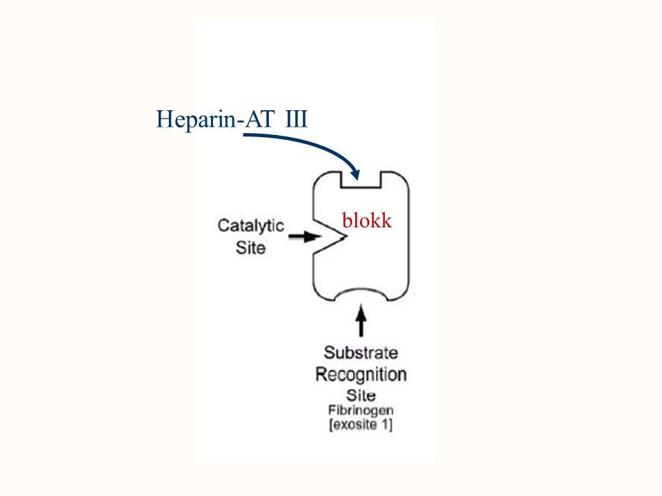 Heparin-AT III blokk