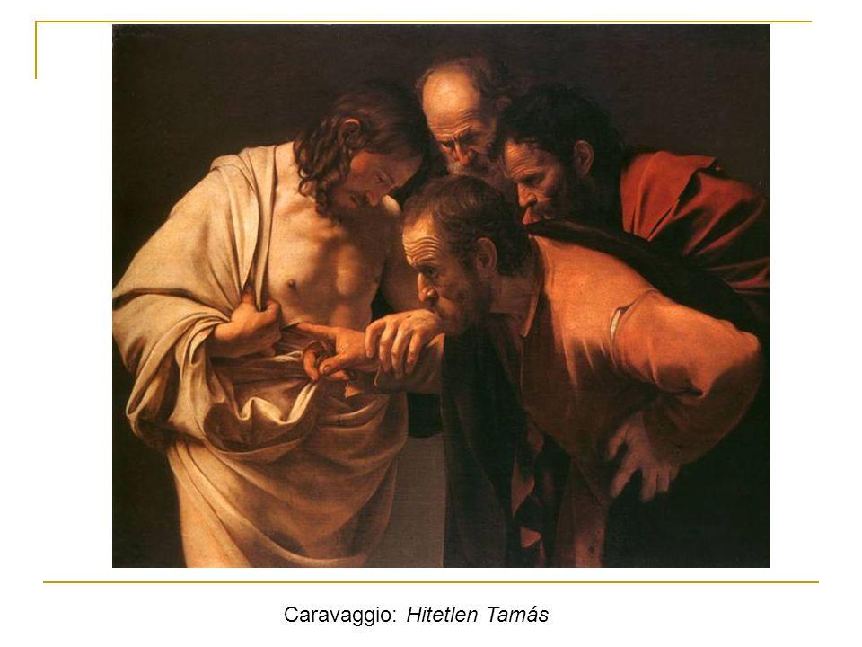 Caravaggio: Hitetlen Tamás