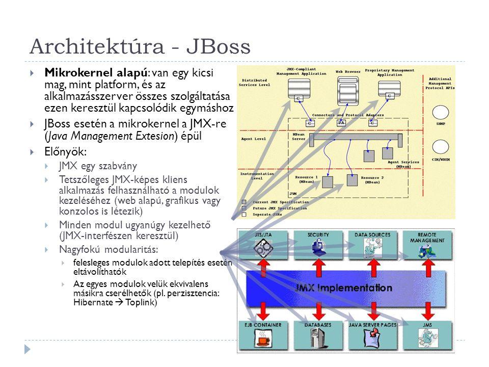 47 MIT Athena project ( http://web.mit.edu/kerberos/www/ ) Funkciói (Fejek): Azonosítás (authentication) Hozzáférés vezérlés (access control) Naplózás (auditing) Felépítés: Kliens (Client) Szerver (Server) Jegy központ (KDC) Kerberos V5 (RFC 1510): Azonosítás Kerberos