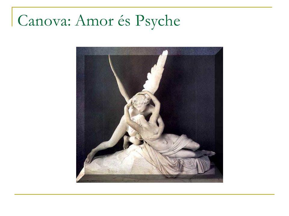 Canova: Amor és Psyche