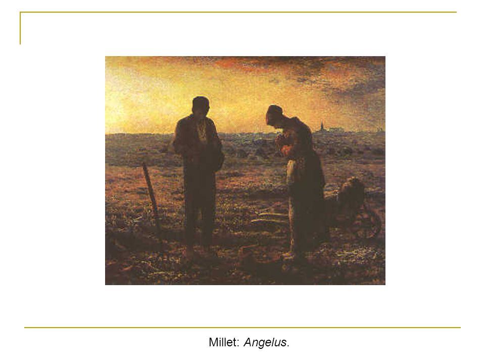 Millet: Angelus.
