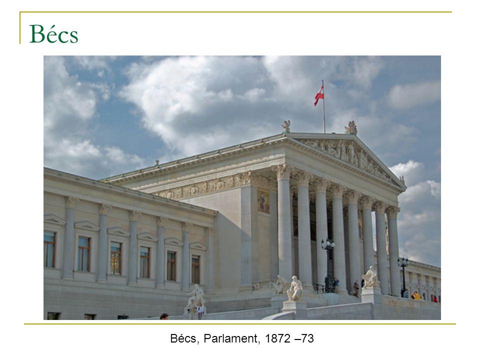 Bécs Bécs, Parlament, 1872 –73