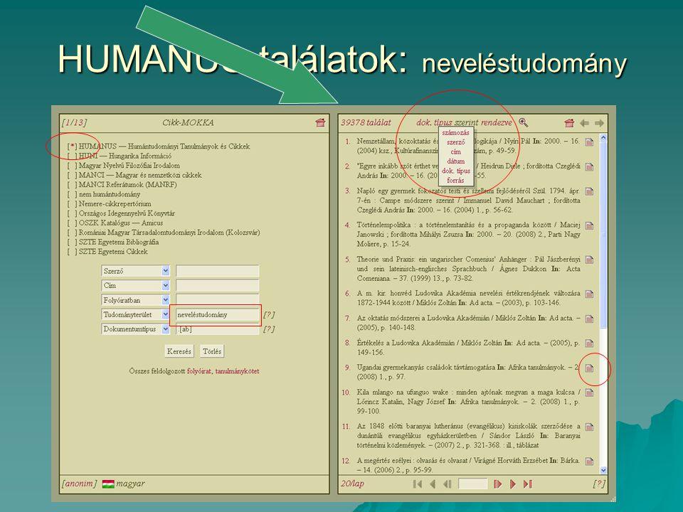 OPKM: WebOPAC (2008: 273685, 2010.nov.: 336090, 2011.
