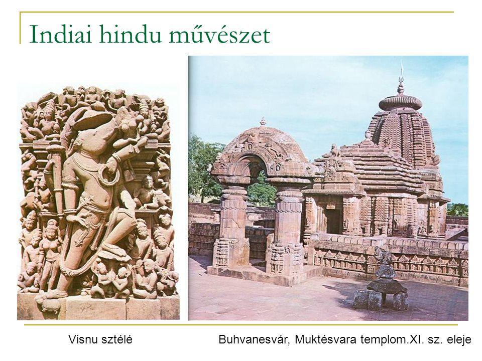Indiai hindu művészet Buhvanesvár, Muktésvara templom.XI. sz. elejeVisnu sztélé