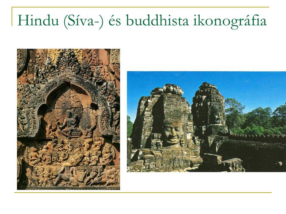 Hindu (Síva-) és buddhista ikonográfia