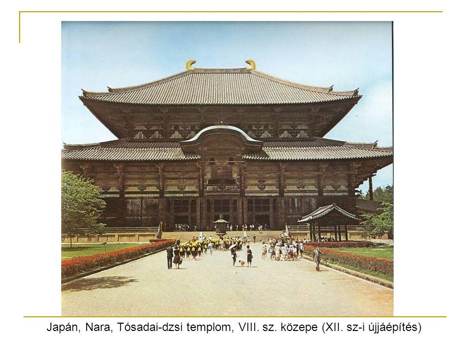 Japán, Nara, Tósadai-dzsi templom, VIII. sz. közepe (XII. sz-i újjáépítés)