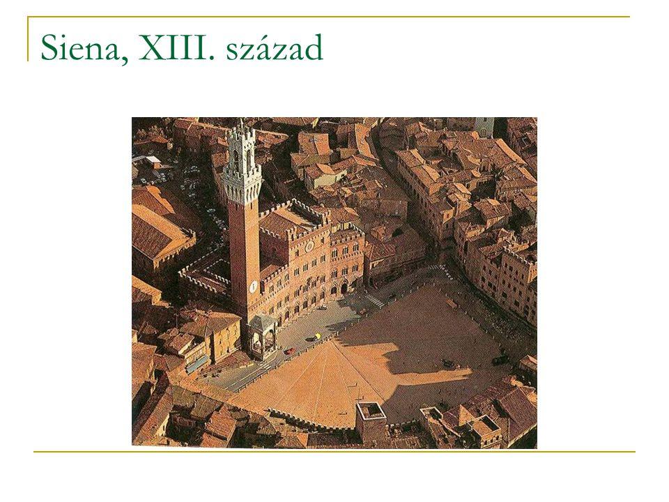 Siena, XIII. század