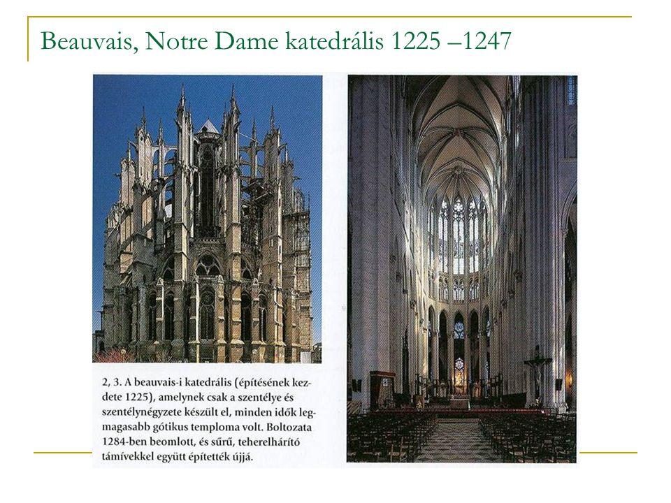 Chartres, Notre Dame katedrális, újjáépítés: 1194–1220