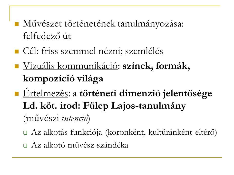 Példa In Oskar Bätschmann: Bevezetés a művészettörténeti hermeneutikába.