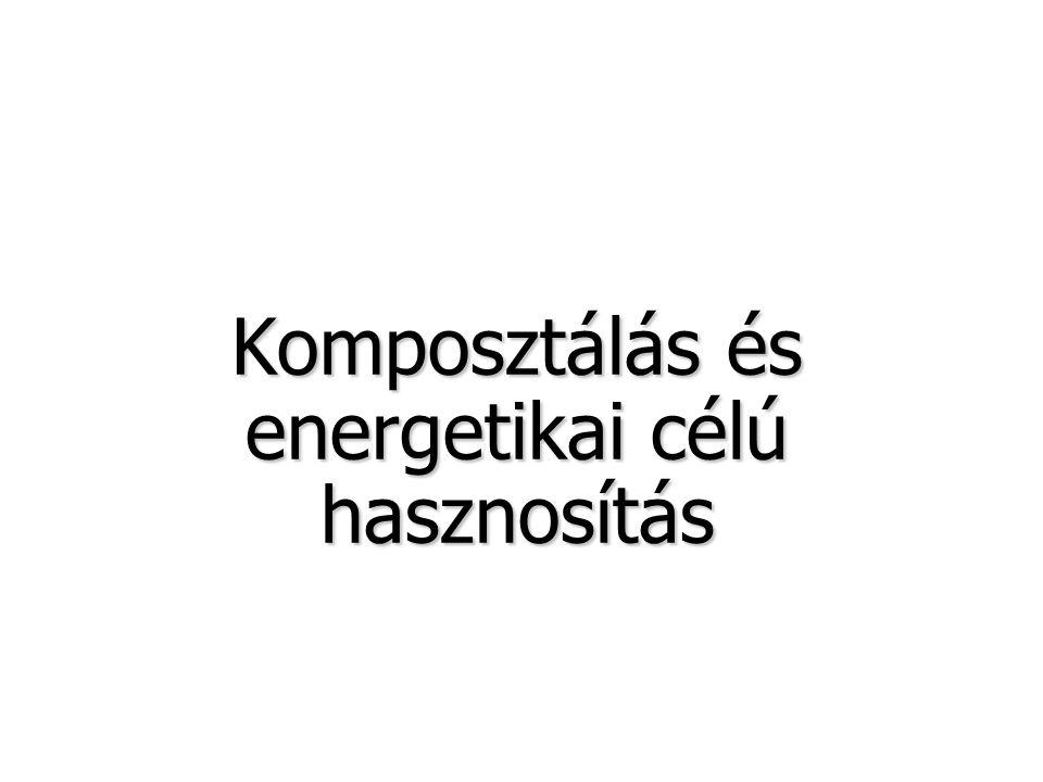 Komposztálás és energetikai célú hasznosítás