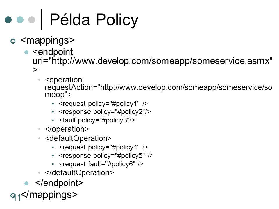 11 Példa Policy