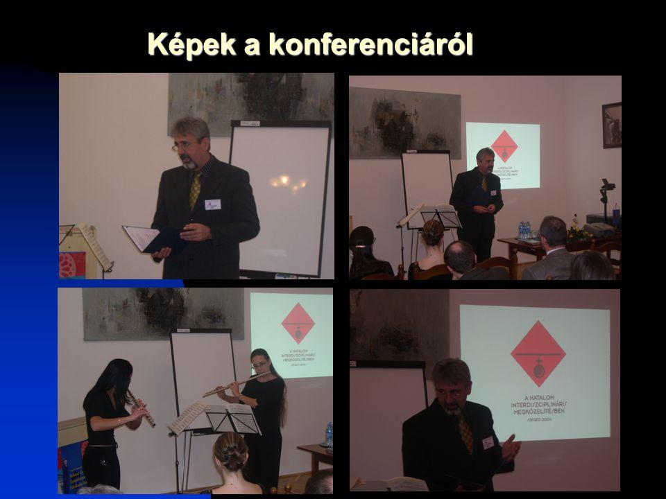 Képek a konferenciáról
