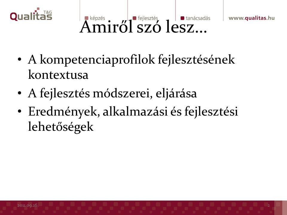 A FEJLESZTÉS KONTEXTUSA 2011.09.16.3