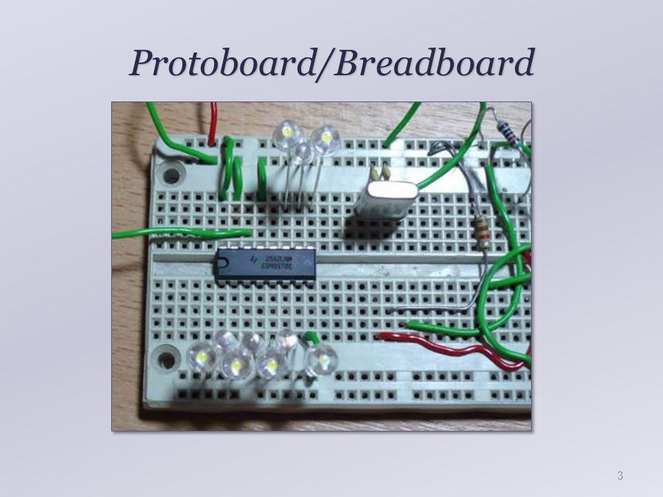 Protoboard/Breadboard Forrasztásmentes megoldás Gyors prototípusfejlesztés DIP/DIL tokos IC-khez ideális Alacsony megbízhatóság Nagy kapacitás az egyes vezetékek között Nagy frekvencián nem használható Nem minden IC illeszthető bele Drága Nagyobb áramkörök esetén nem használható 4