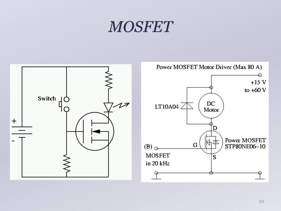 MOSFET 20