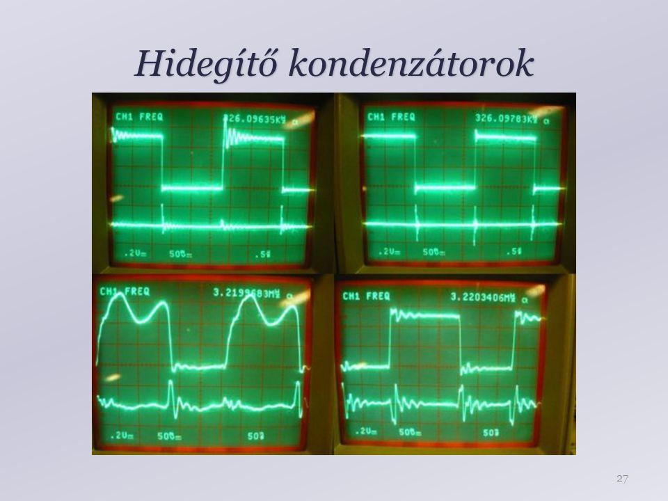 Hidegítő kondenzátorok 27