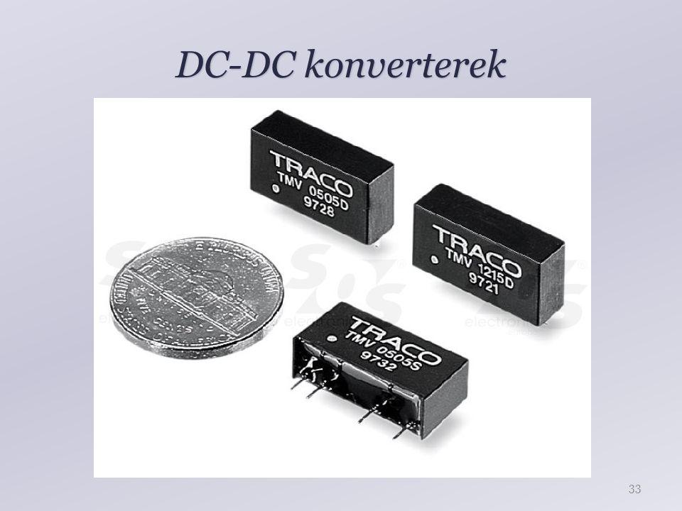 DC-DC konverterek 33