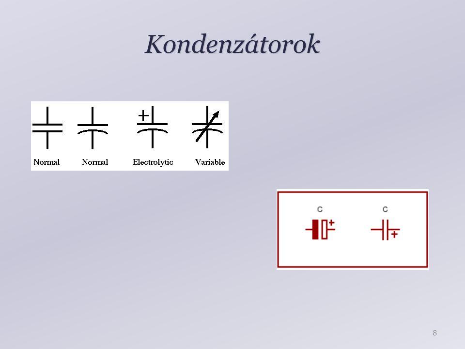Kondenzátorok 8