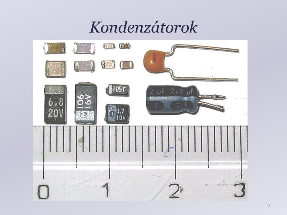 Kondenzátorok 9