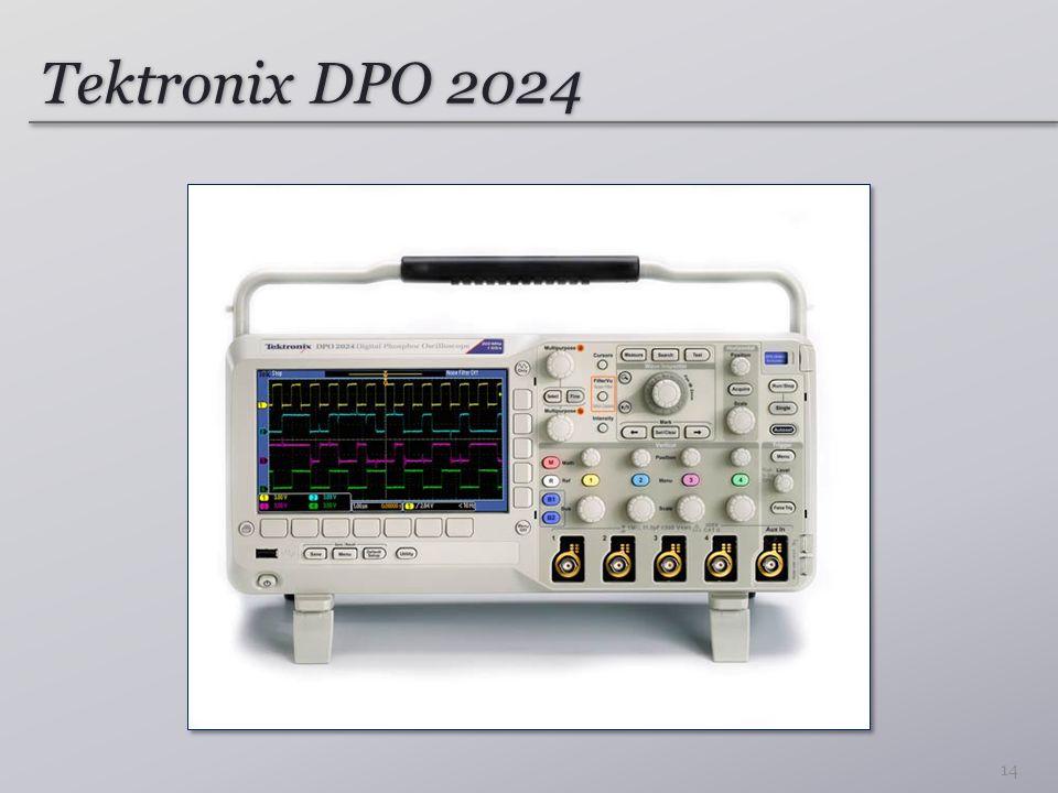 Tektronix DPO 2024 14
