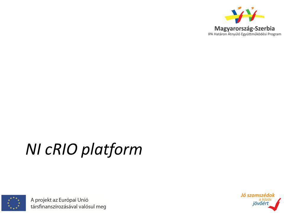NI cRIO platform