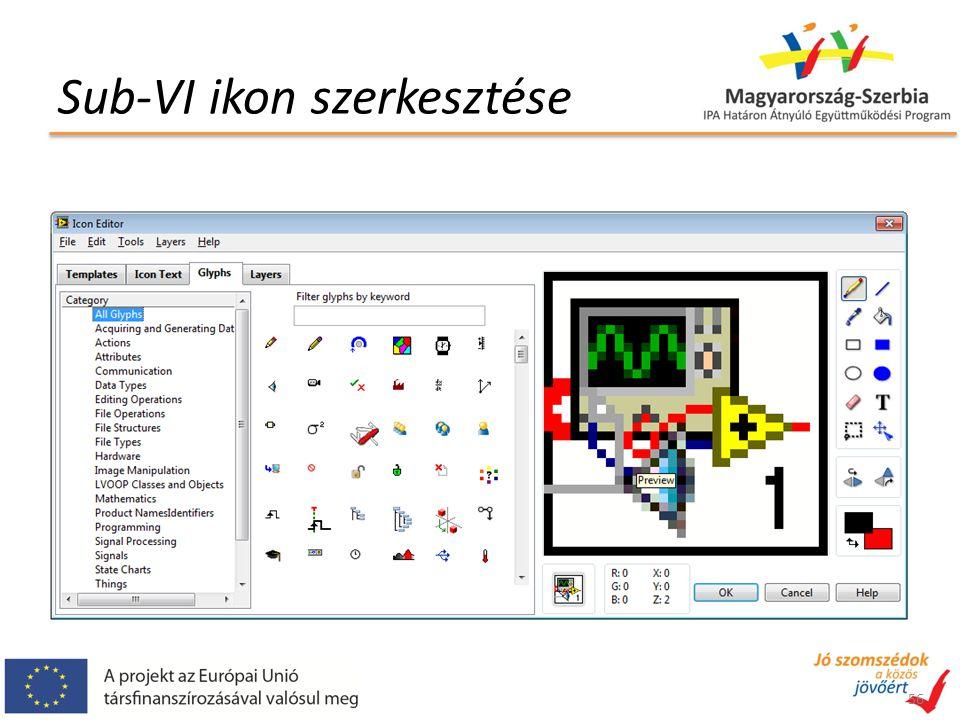 Sub-VI ikon szerkesztése 56