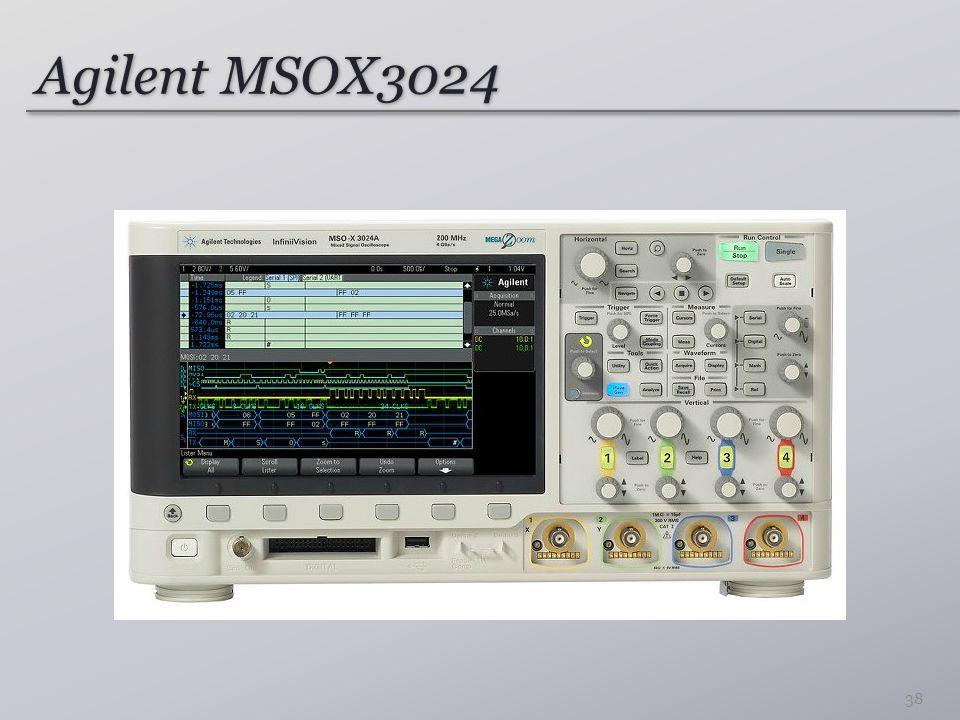 Agilent MSOX3024 38