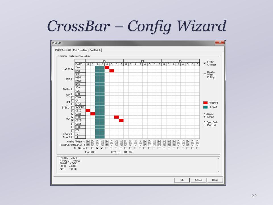 CrossBar – Config Wizard 22
