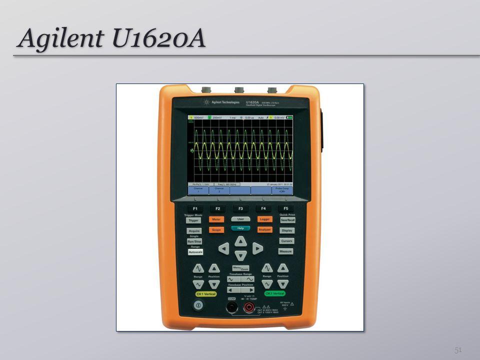 Agilent U1620A 51