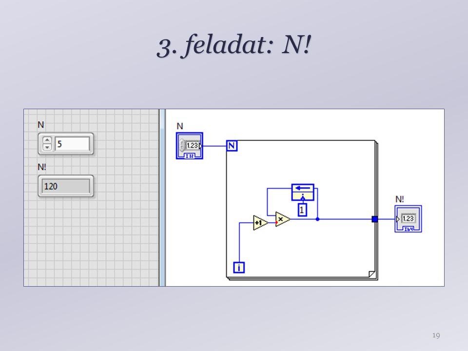3. feladat: N! 19