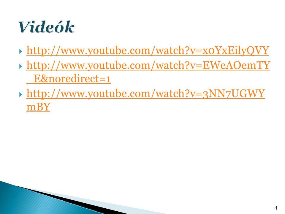  http://www.youtube.com/watch?v=x0YxEilyQVY http://www.youtube.com/watch?v=x0YxEilyQVY  http://www.youtube.com/watch?v=EWeAOemTY _E&noredirect=1 http://www.youtube.com/watch?v=EWeAOemTY _E&noredirect=1  http://www.youtube.com/watch?v=3NN7UGWY mBY http://www.youtube.com/watch?v=3NN7UGWY mBY 4