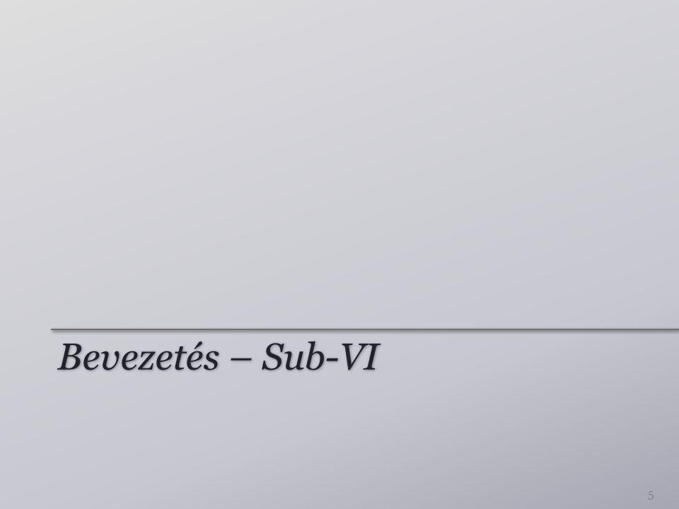 Bevezetés – Sub-VI 5