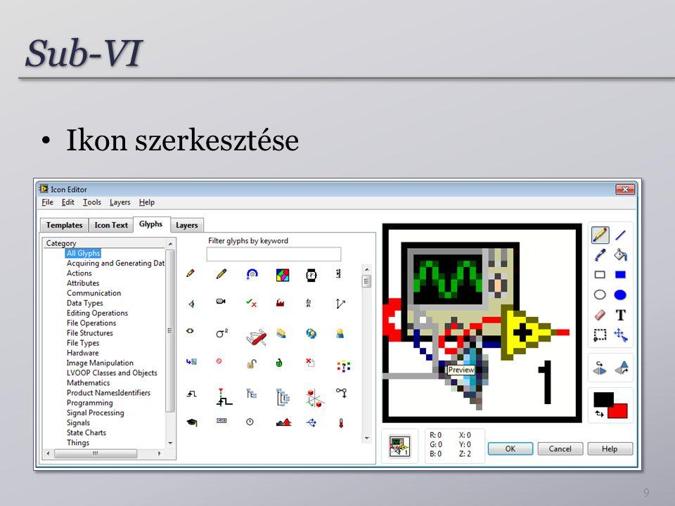 Sub-VISub-VI Ikon szerkesztése 9