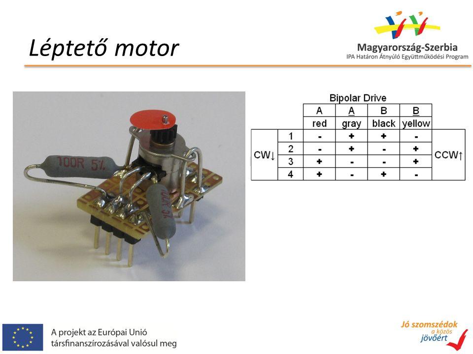 Léptető motor