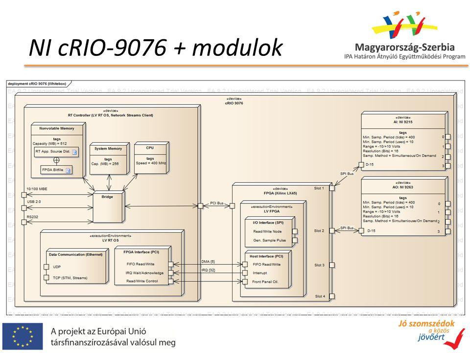 NI cRIO-9076 + modulok