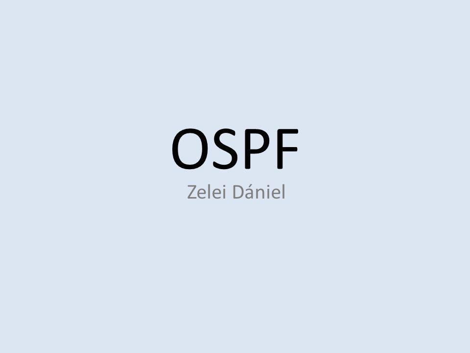 OSPF Zelei Dániel