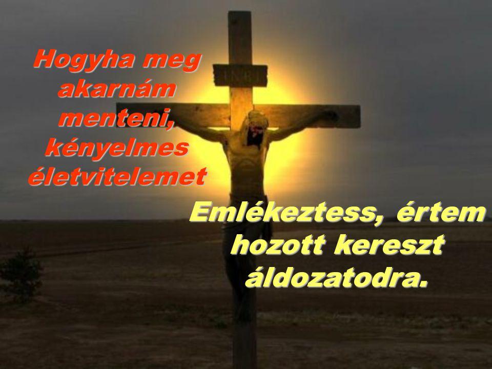 Hogyha a környezetem arra biztatna, hogy hamis isteneknek hódoljak Jusson eszembe, hogy te vagy az én Uram, Istenem
