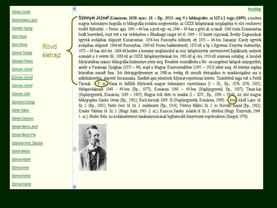 """Ókori Lexikon """"ókorra vonatkozó összes tárgyi ismeretek kézikönyve néhány téma: ókori irodalom, nyelvészet, filozófia, vallás, mitológia, történettudomány, színház 2 kötetes mű, 1902-1904 új kiadás 1984-1985 Arcanum kiadó cd-rom változata http://mek.oszk.hu/03400/03410/html ma sok ponton nem tekinthető korszerű lexikonnak, de nincs jobb; sok olyan ismeretet tartalmaz, mely más lexikonban vagy kézikönyvben így együtt nem található meg"""
