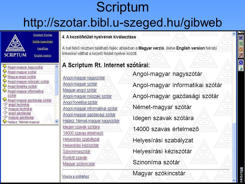 Francia szótárak Olasz szótárak Spanyol szótárak Portugál szótárak Görög és latin szótár Egyéb nyelvek szótárai