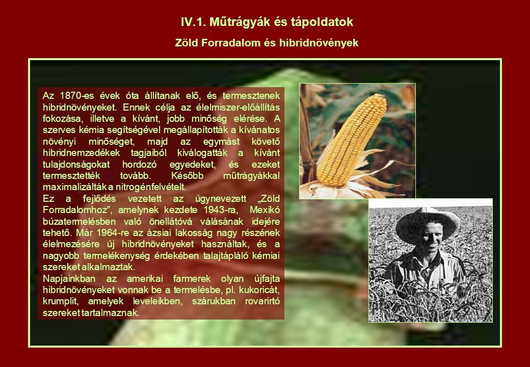 IV.4.Élelmiszerek tárolása Mikrohullámú sütő A XX.