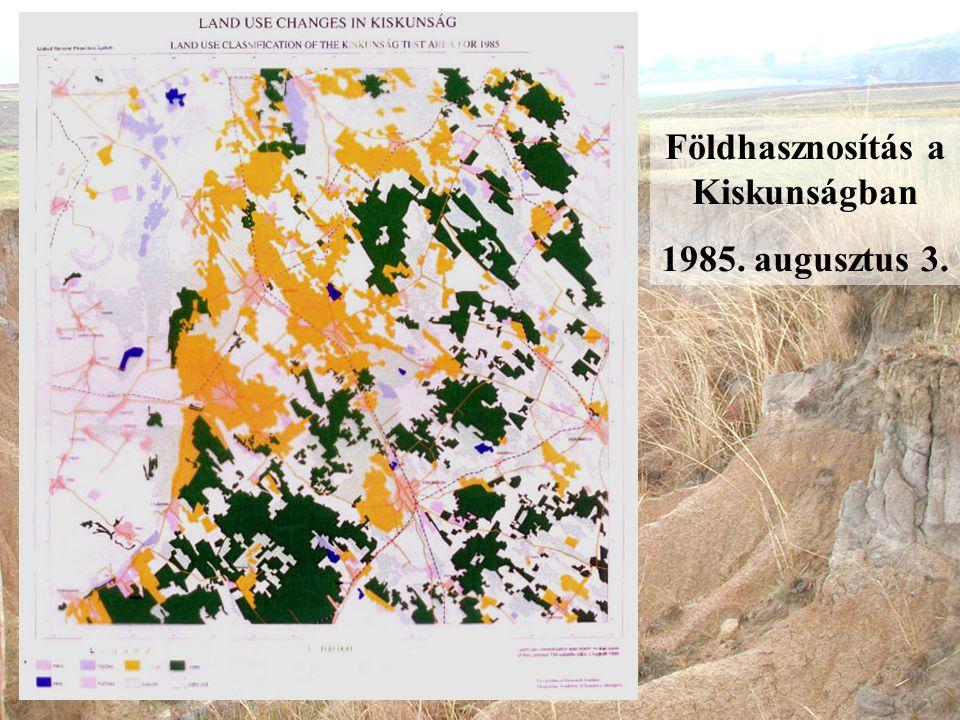 Földhasznosítás a Kiskunságban 1985. augusztus 3.