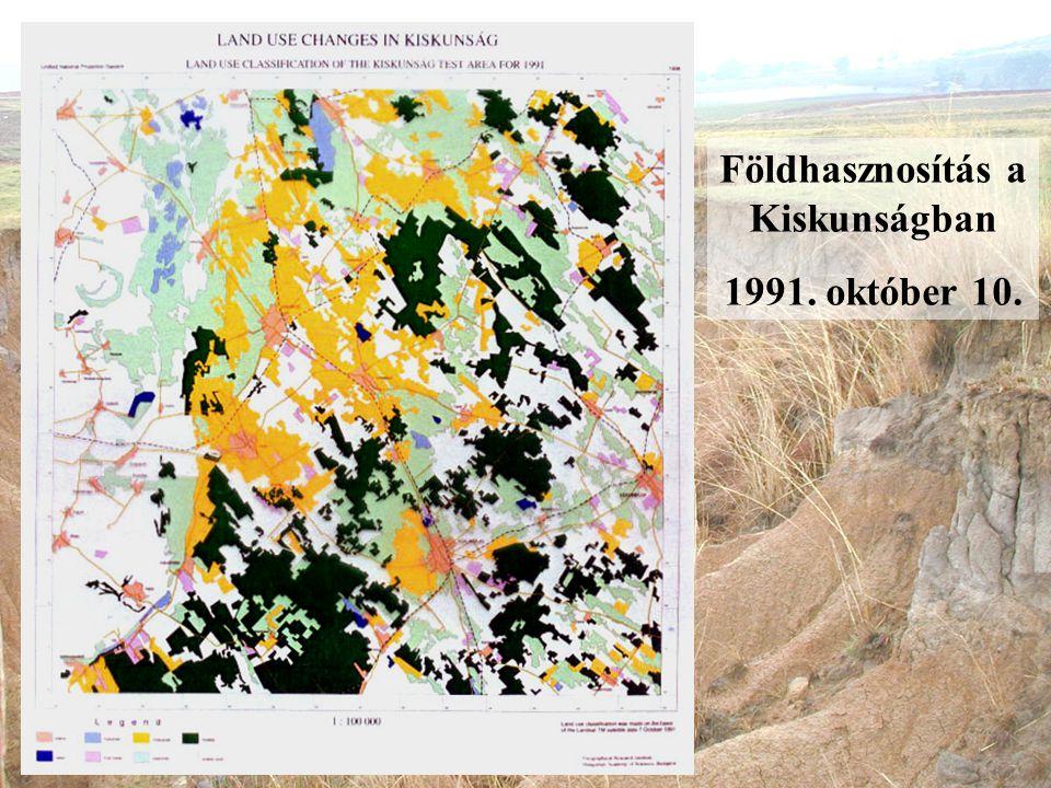 Földhasznosítás a Kiskunságban 1991. október 10.