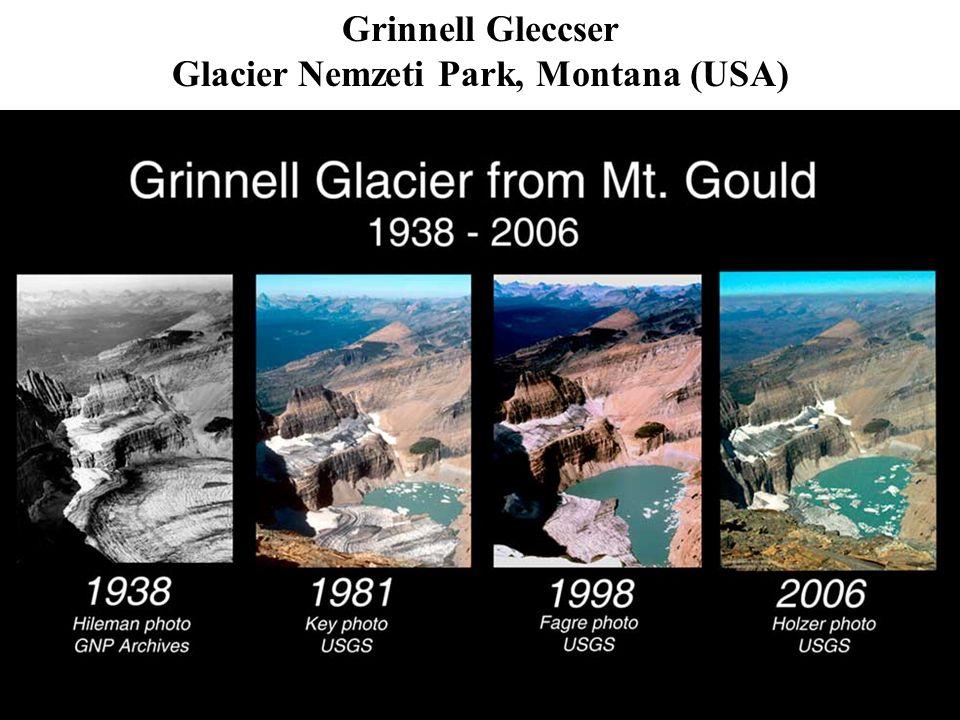 Grinnell Gleccser Glacier Nemzeti Park, Montana (USA)
