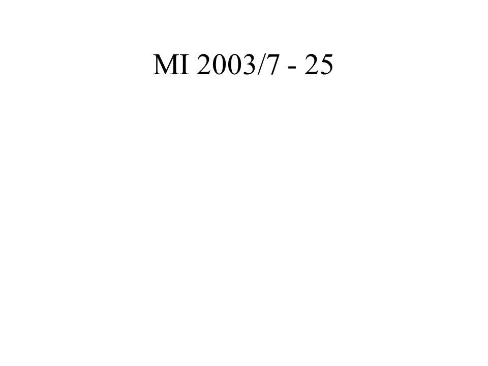 MI 2003/7 - 25