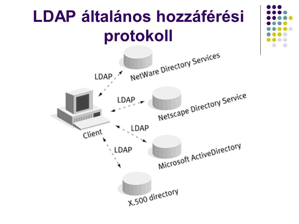 LDAP általános hozzáférési protokoll