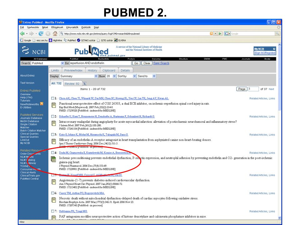 PUBMED 2.