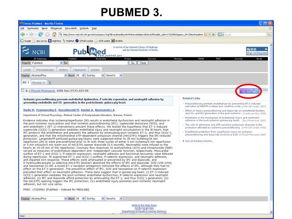 PUBMED 4.