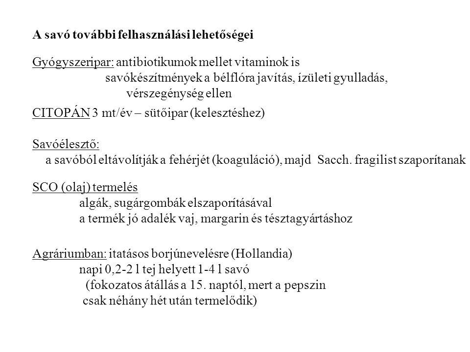 6. Állati fehérjetakarmányok